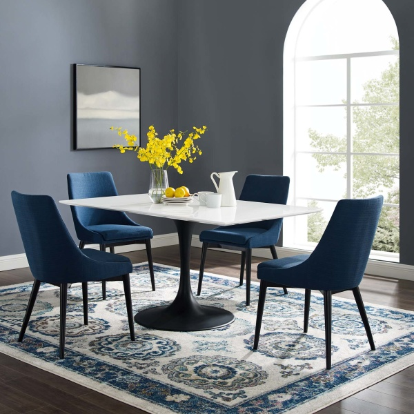Lippa 60 Rectangle Wood Dining Table