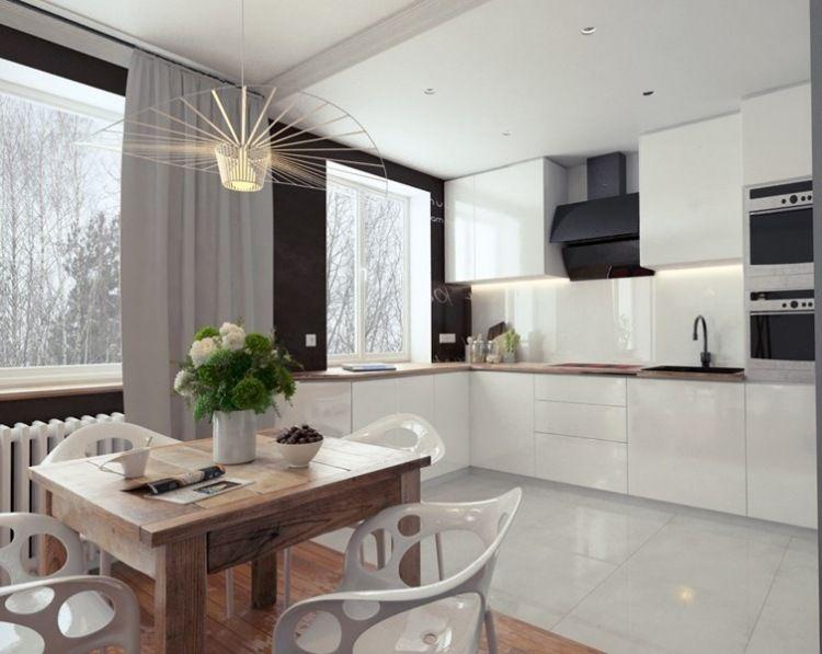 Plan de travail cuisine 50 idées de matériaux et couleurs House - plan de travail cuisine rouge