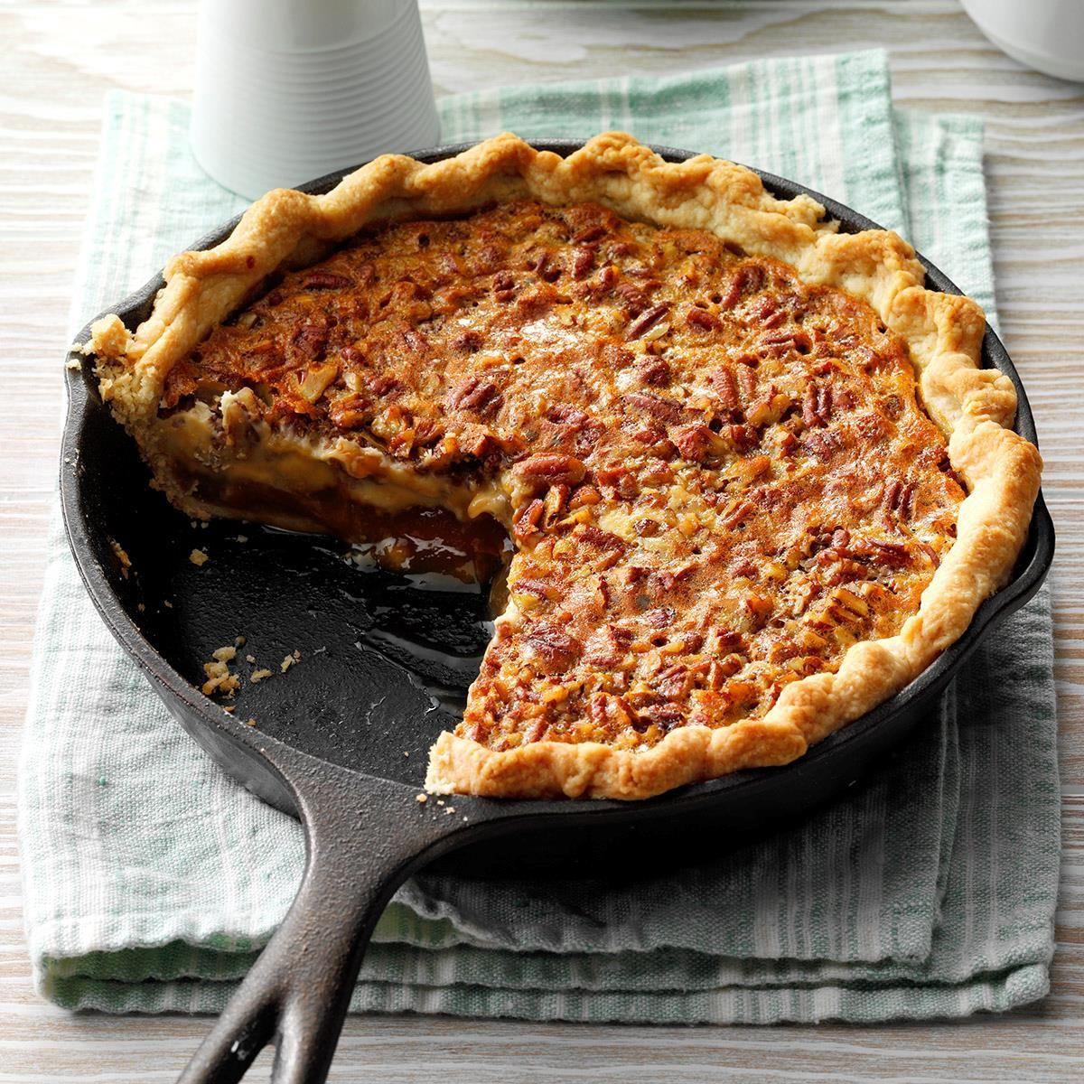 Caramel-Pecan Cheesecake Pie
