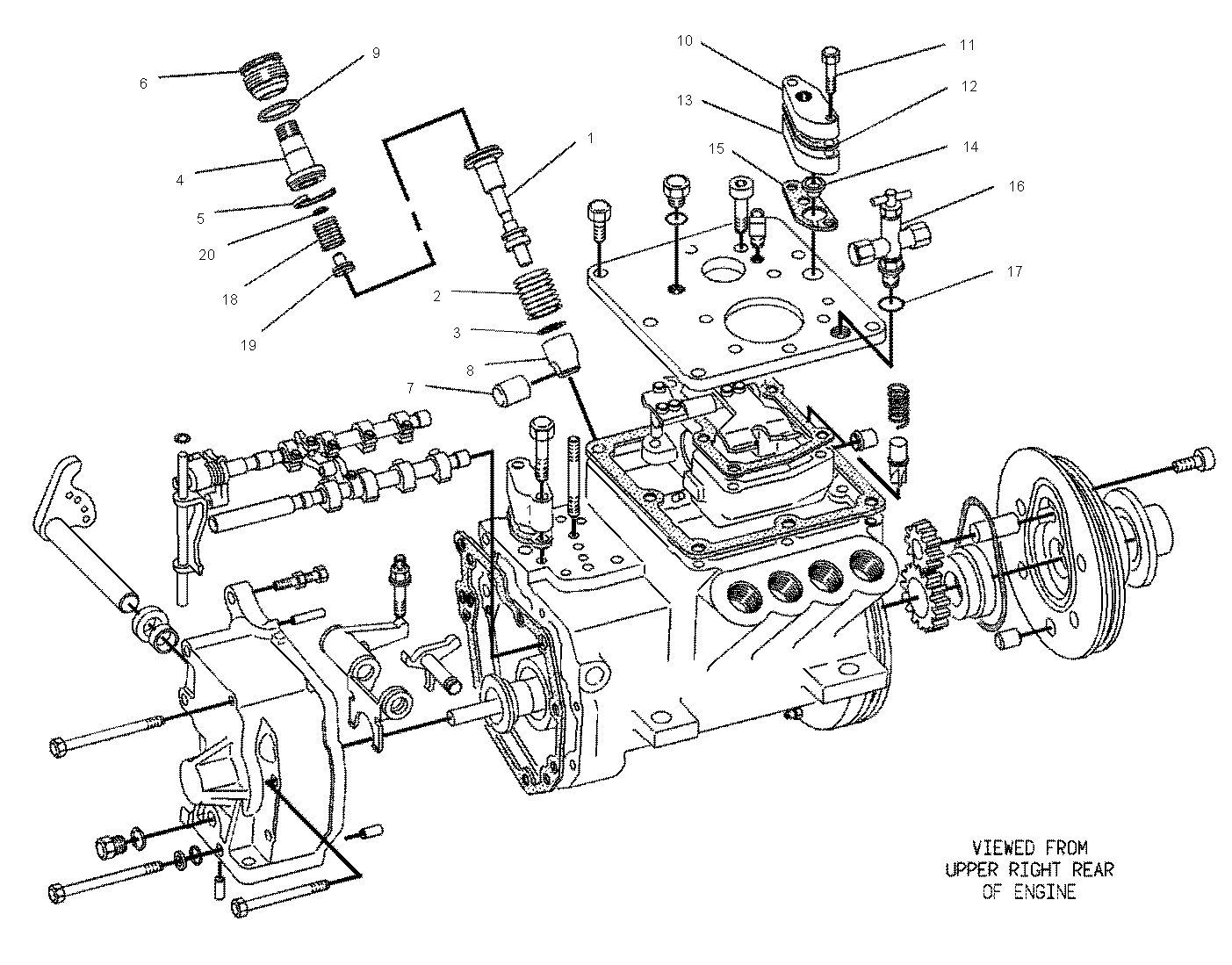 Diagram Cat 3208 Fuel System Diagram
