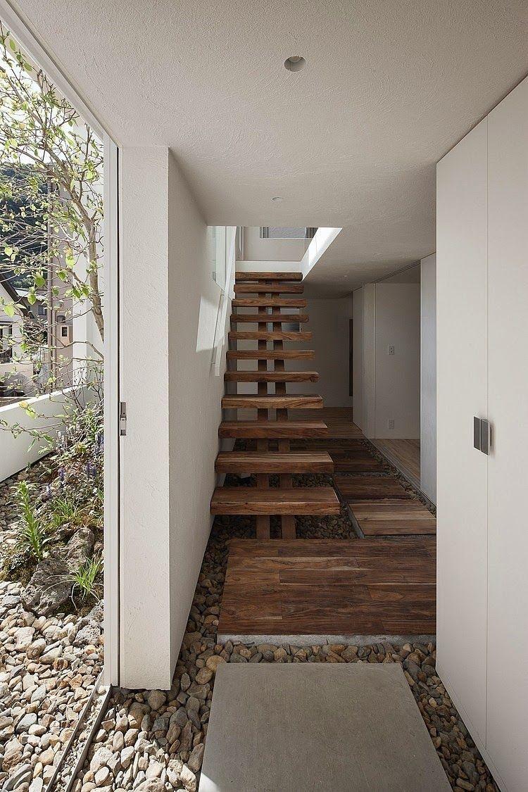 casas y modernas escaleras escaleras