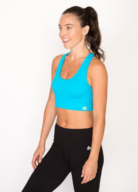 0592e02812f RBX Active, Seamless Reversible Racerback Sports Bra With Extended ...