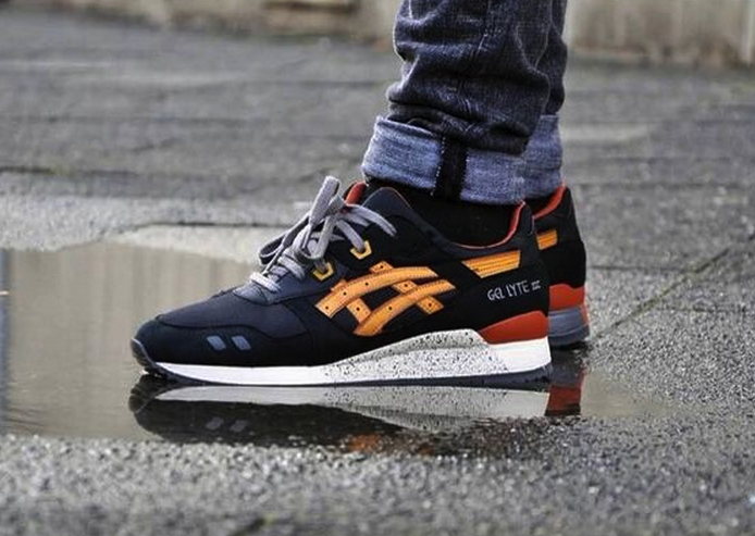 Asics Gel Lyte III 3 Black Tan H307N 9071 Casual Shoes $199.00