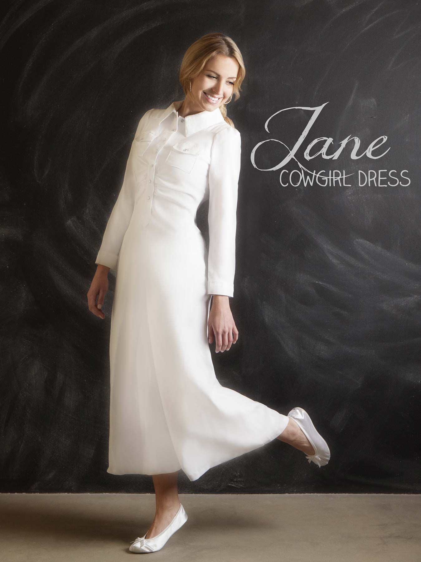 Front pleated, snap front, fitted LDS temple dress. Is flattering ...