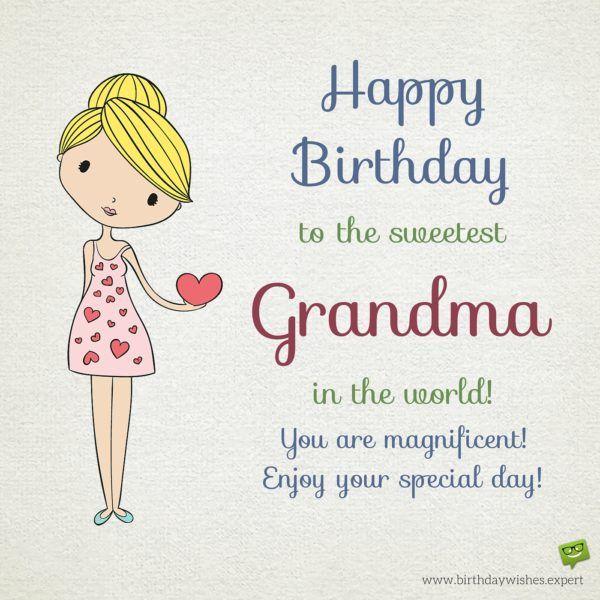 Happy Birthday Grandma Happy Birthday Grandma Quotes Birthday
