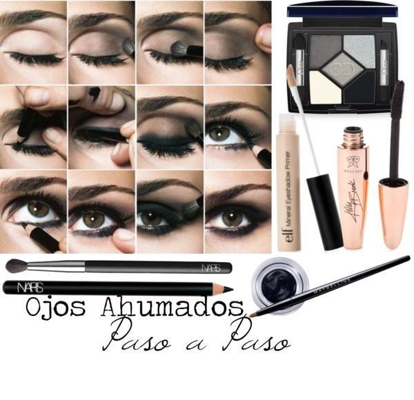 Maquillaje de Ojos Ahumados Paso a Paso para un resultado prefecto ...