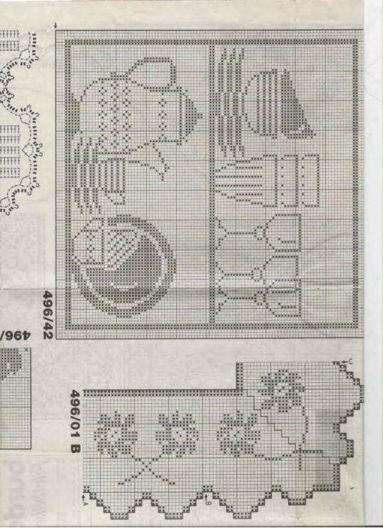 Gallery.ru / Фото #116 - Crochet Filet pour Point de Croix 1 - Mongia