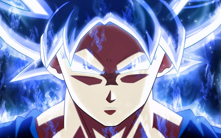 Download Wallpapers Ultra Instinct Goku 4k Dragon Ball