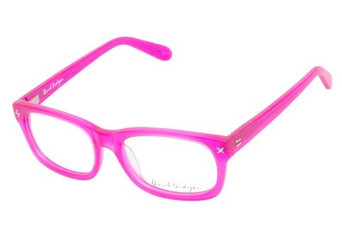 Derek Cardigan 7003 Matte Fuchsia eyeglasses are feisty and vibrant. This cheerful style boasts a breathtakingly bright semi-transparent fuchsia hue, constructed from matted handmade Italian acetate.