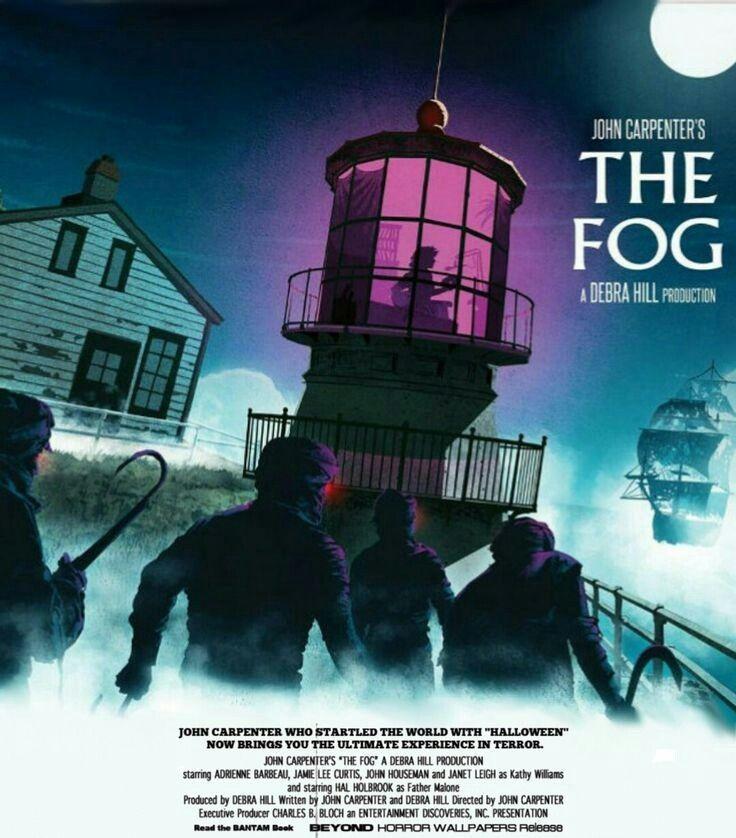 The Fog (1980) | 1980s horror movies, Horror movie art ...