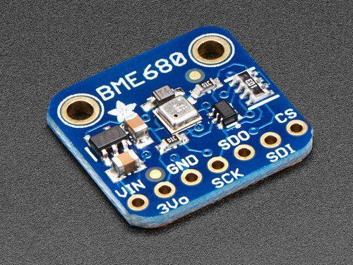 BME680 - Temperature, Humidity, Pressure and Gas Sensor