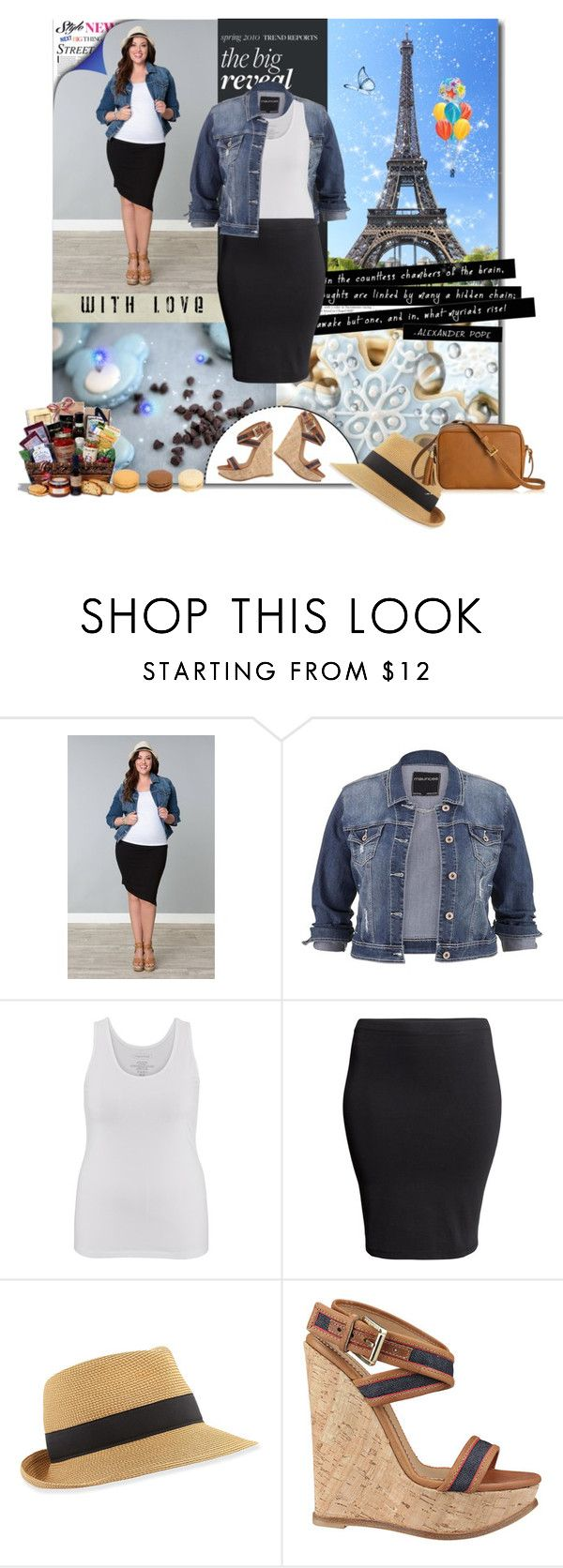 plus size by bouchra-re on Polyvore featuring mode, maurices, Kiyonna, H&M, Dsquared2, GiGi New York, Eric Javits, SAN LORENZO and plus size clothing