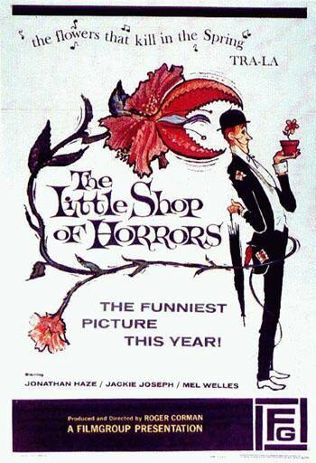 La Pequeña Tienda De Los Horrores Tienda De Los Horrores Horror Movie Posters Cine De Terror