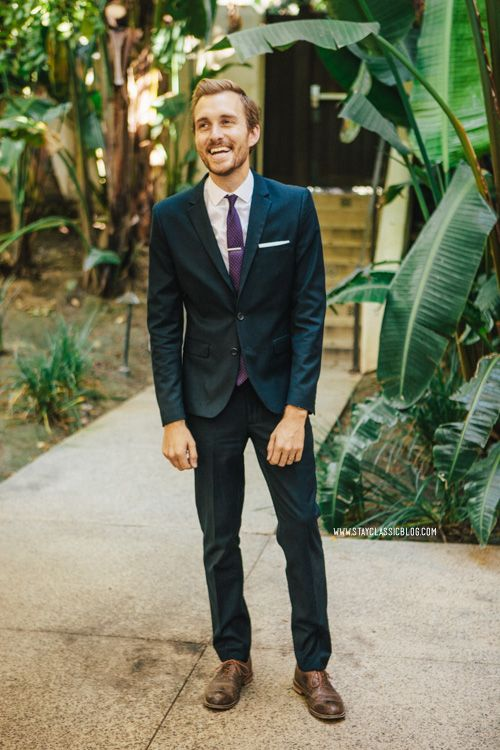 October 6, 2013. Wedding in San Diego. Suit: H&M - $90 (similar ...