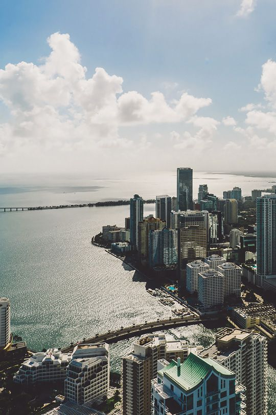 Miami Skyline Tumblr