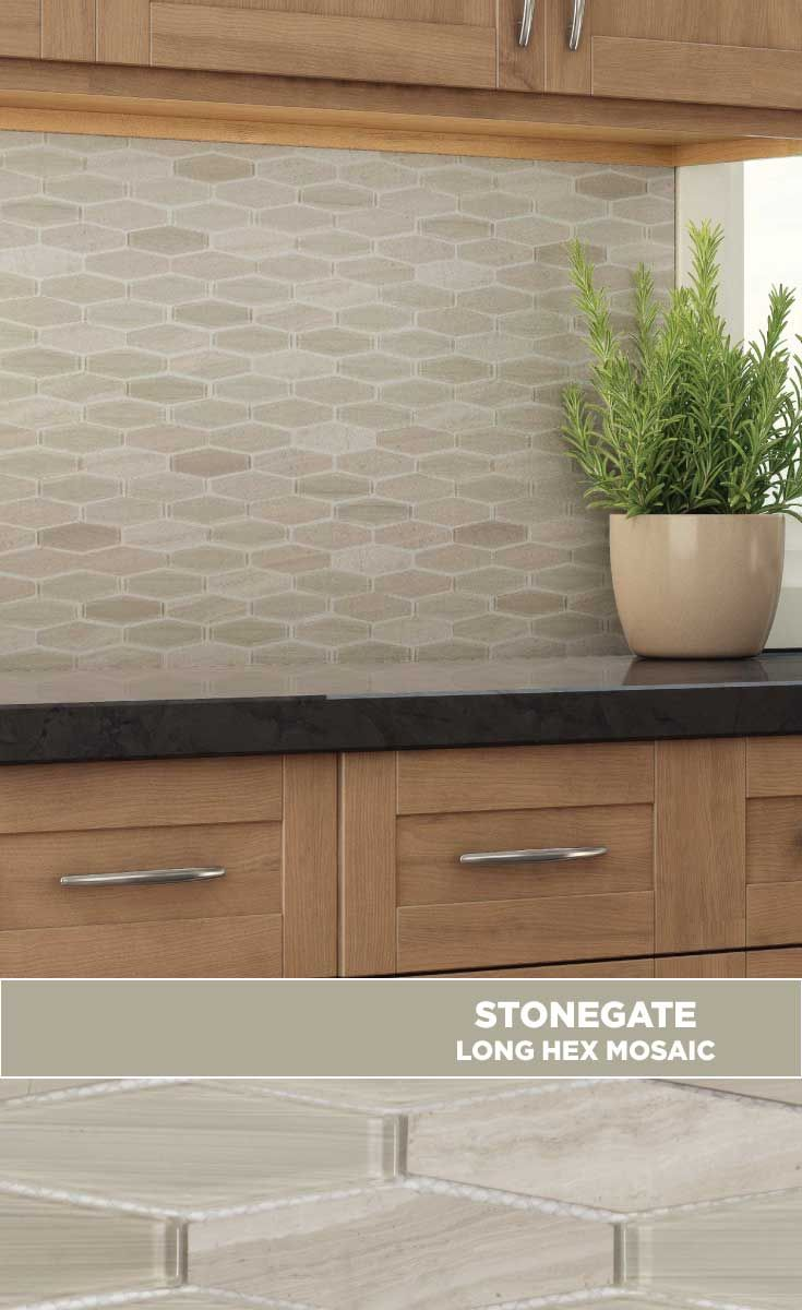 Tile Lowes Mosaics Glassmosaics Backsplash St440lhwd1212 Available At Lowe S And Lowes Com Rock Tile River Rock Tile River Rock