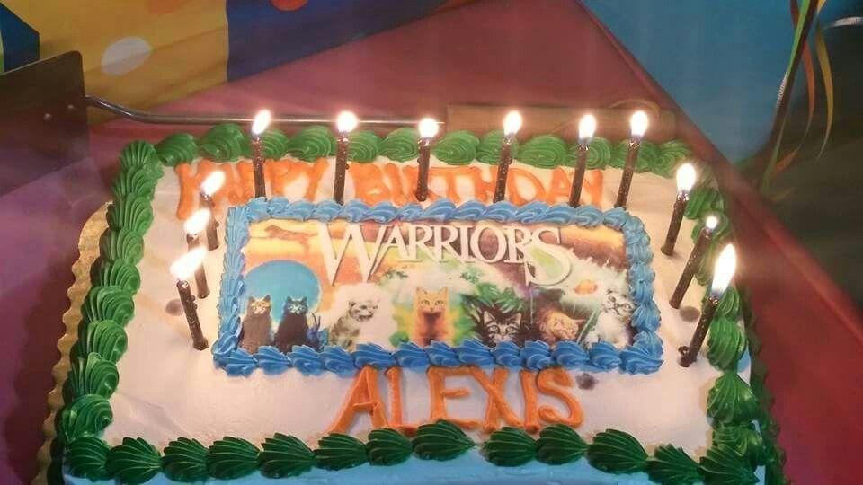 Warrior Cats Cake Birthday Stuff Pinterest Warrior Cats Cat