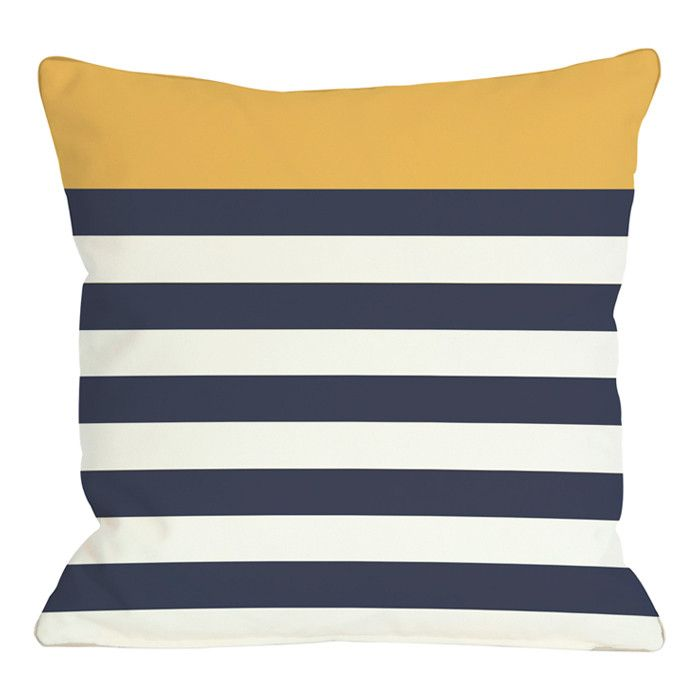 Nautique Pillow in Mimosa