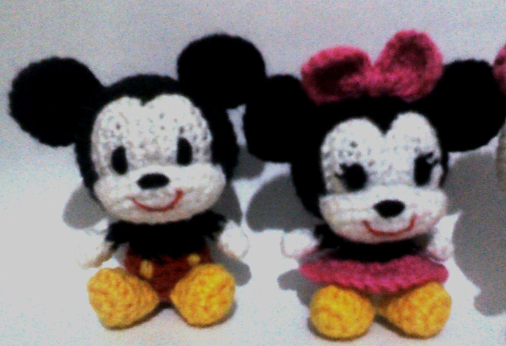 Amigurumis Personajes De Disney : Llaveros disney en ofeliafeliz ar amigurumi