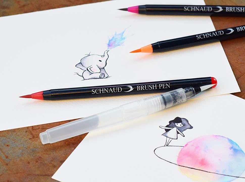 Pinselstifte Wasserfarben Stifte Aquarell Stifte Brush Pens