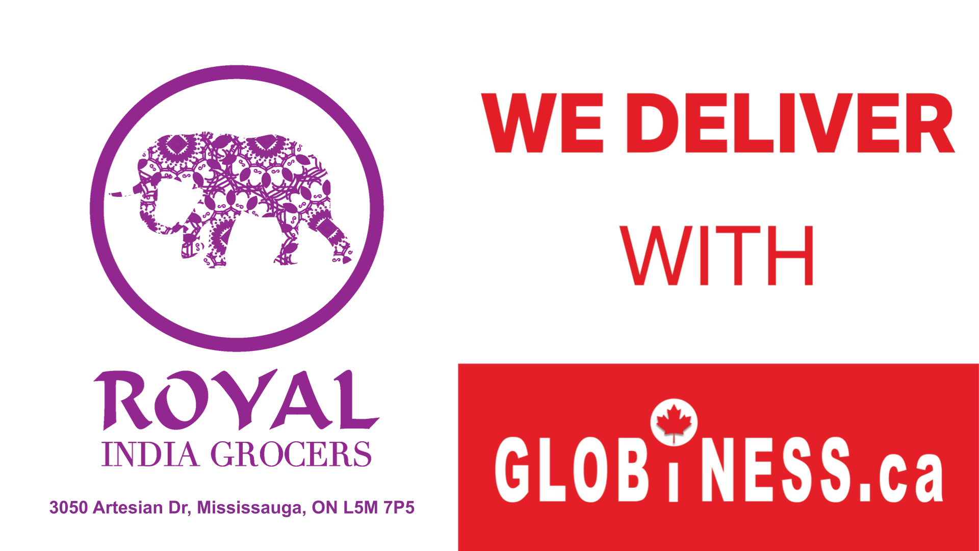 Royal India Grocers Now Deliver With Globiness Ca Get Delivery From 7 99 Delivery Groceries Grocery Home Delivery Liquor Delivery
