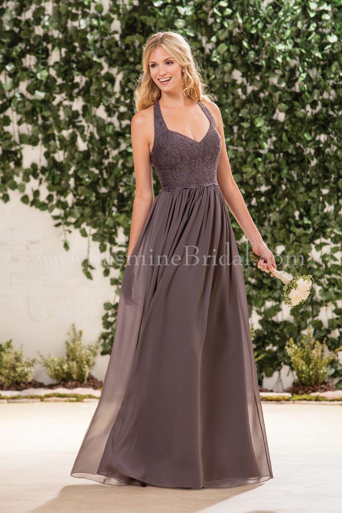 Jasmine bridal bridesmaid dress b2 style b183061 in iron fall jasmine bridal bridesmaid dress b2 style b183061 in iron ombrellifo Images