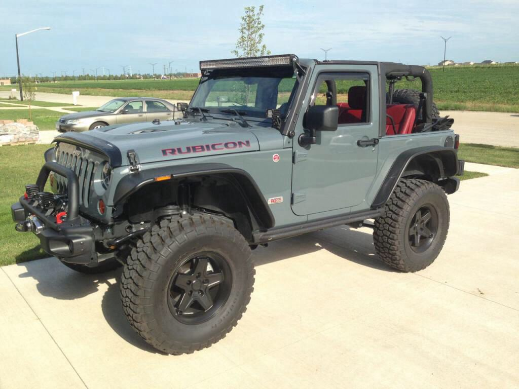 Jeep Wrangler 10th Anniversary Edition In Anvil Blue Custom Jeep
