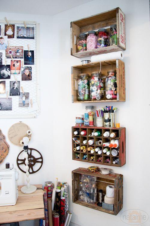viel gefragt 10 unglaublich tolle ideen mit holzkisten zum ausprobieren diy bastelideen. Black Bedroom Furniture Sets. Home Design Ideas