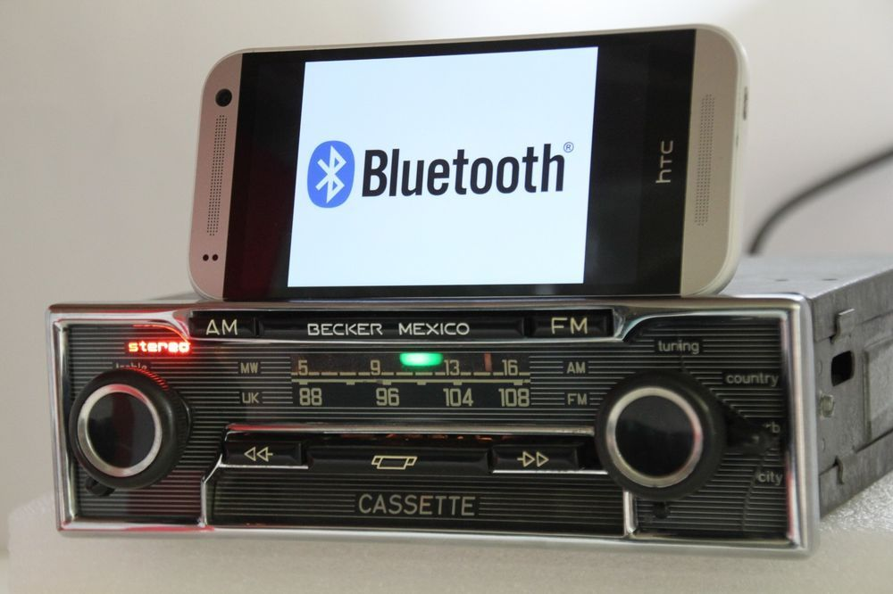 Becker Mexico Cassette Vollstereo 485 Radio Bluetooth Upgraded