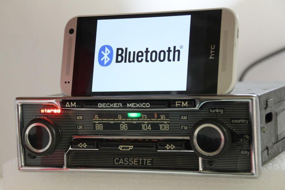 BECKER MEXICO CASSETTE VOLLSTEREO 485 RADIO BLUETOOTH