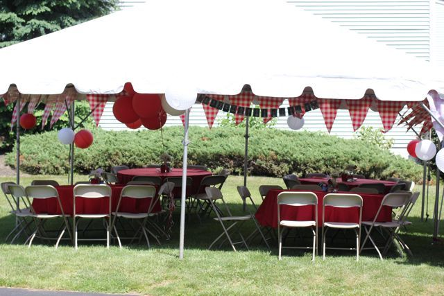 our life in a click: {Entertaining} Vintage Picnic Graduation Party ...