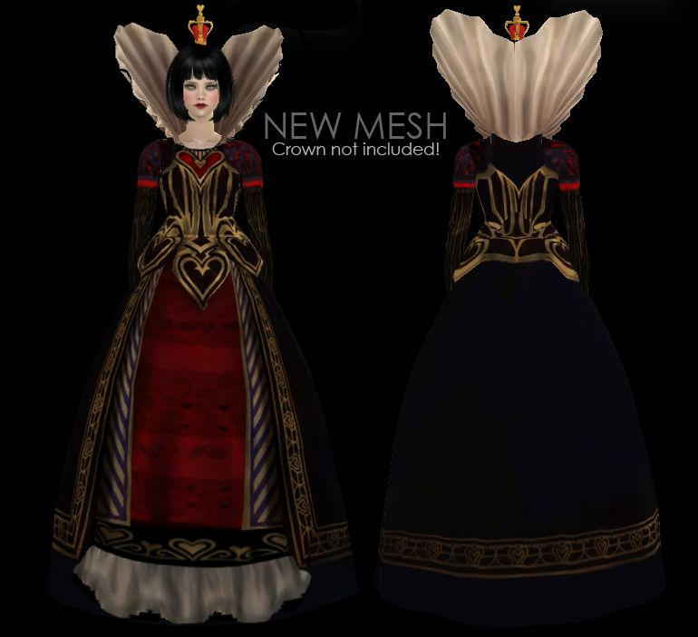 cdf3837a21 WCIF  Zauma s Queen of Hearts dress  FOUND