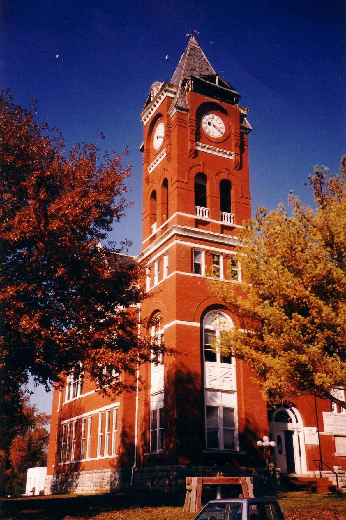 Haralson County Courthouse, Buchanan, Ga. Sweetwater