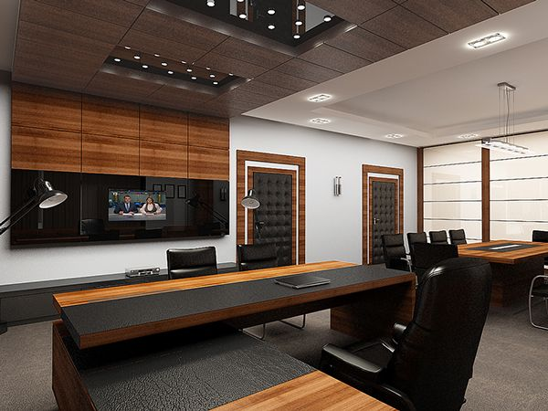 Behance office interiorsdesign also executive director  conference room complete interior rh pinterest