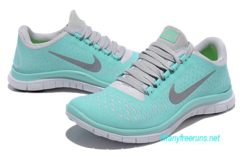 Tropical Twist Blue Nikes Free 3.0 V4 Womens Blue White