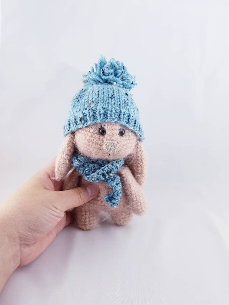Crochet bunny plush, Crochet bunny rabbit, Stuffed bunny for baby #bunnyplush