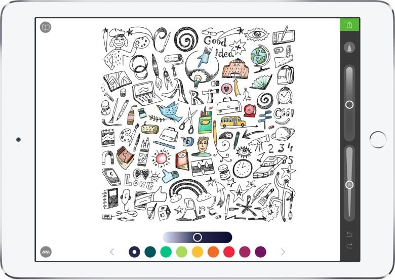 6 Apple Pencil Apps For People That Don T Draw Apple Pencil Apps Coloring Book App Apple Pencil Drawing