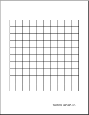 Graph Paper 10x10 - | Math ~It's Elementary | Graphing first grade