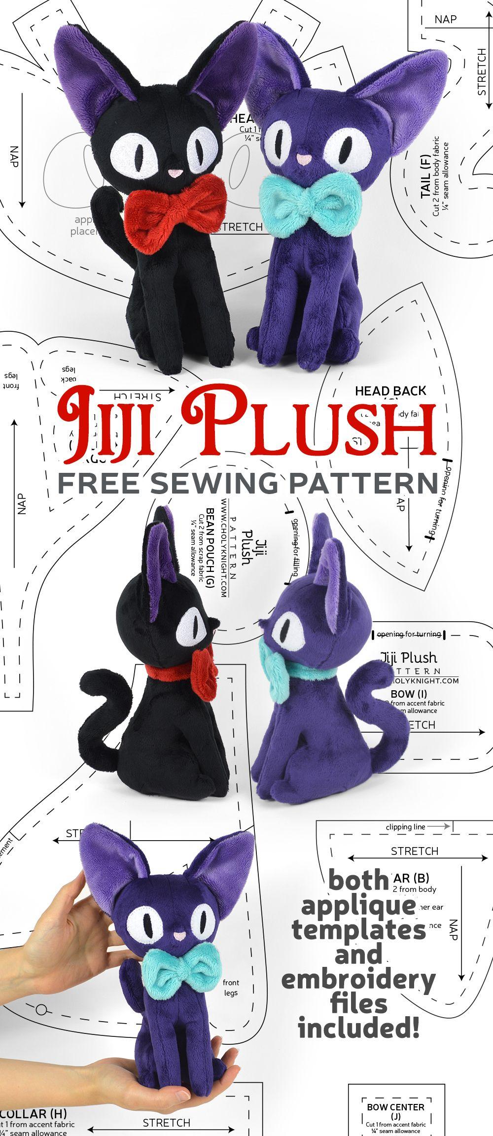 FREE Jiji Plush Pattern