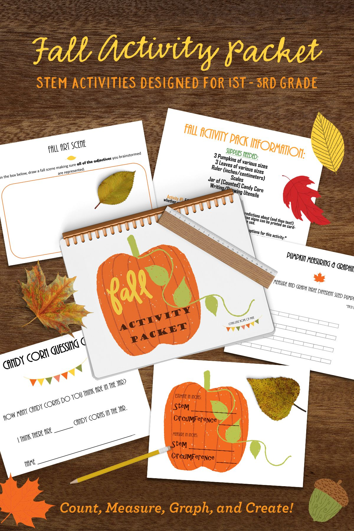 Fall Themed Stem Activity Packet