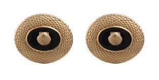 14k Gold Nantucket Basket Top Earrings With Black Onyx 1210 Nantucketbasket Jewelry