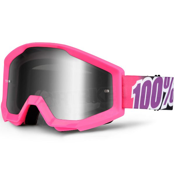 GOGGLE-SHOP REPLACEMENT LENS for 100/% MOTOCROSS MX GOGGLES PINK TINT ACCURI
