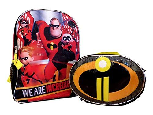 b36caf579126 Beautiful AI The Incredibles 2 Boys School Backpack Book Bag Lunch Box SET  online.   19.97  likeprodress from top store