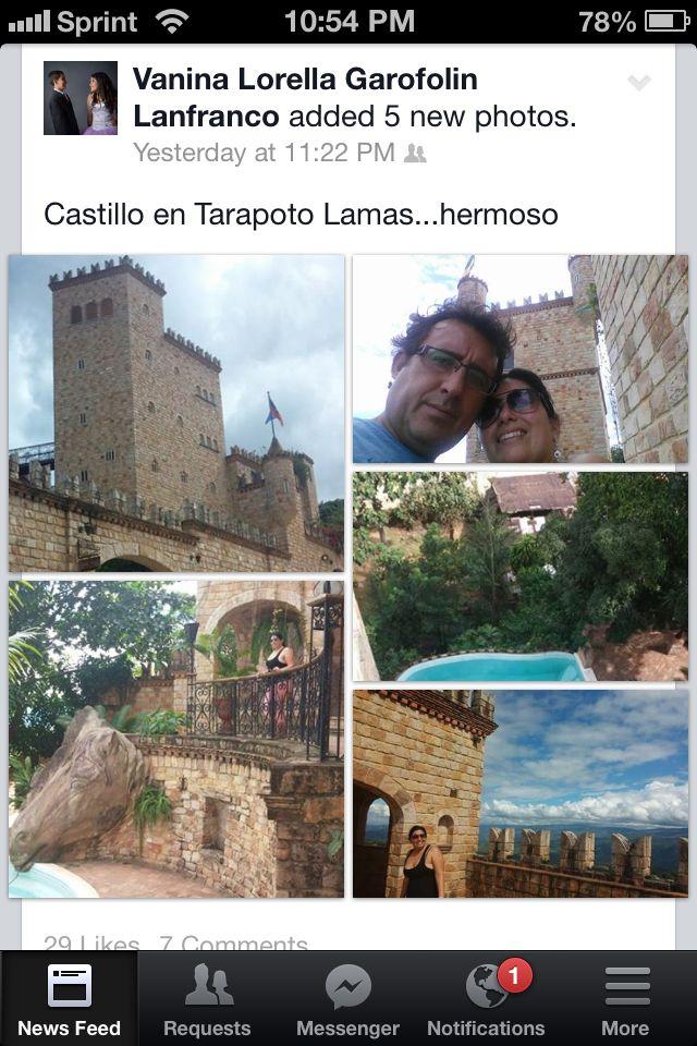 Castillo de tarapoto Lamas