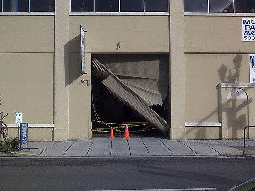Garage Door Accident It Happens To The Best Of Us Staring