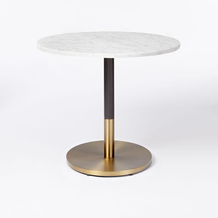 39++ Small white marble dining table Best Choice