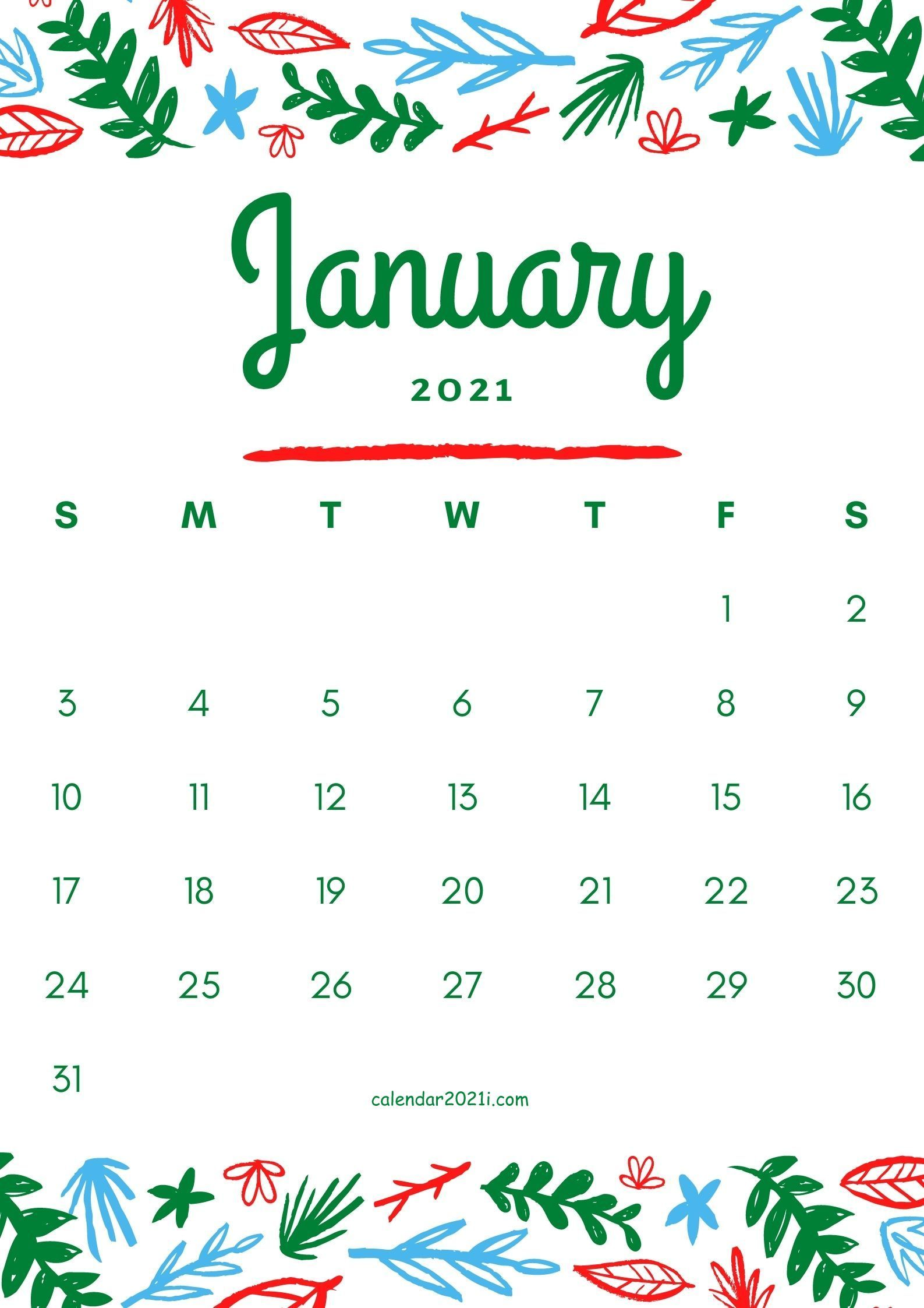 Run the jewels 3, the return of director ben affleck and season 2 of full frontal are just some of what's coming. January 2021 floral calendar printable template free ...