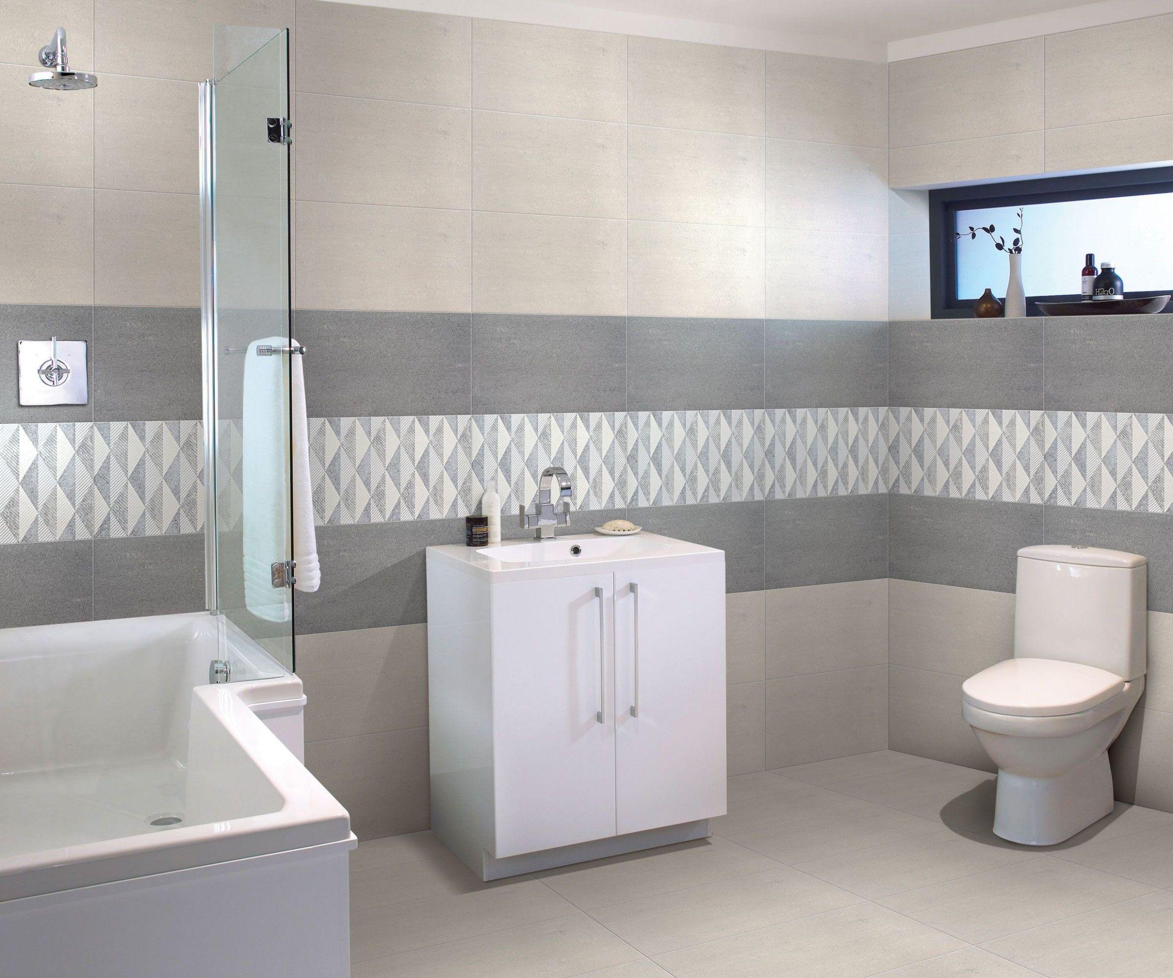 Bathroom Floor And Wall Tiles Design Di 2020 Desain Kamar Mandi Modern Kamar Mandi Kecil Interior Kamar Mandi