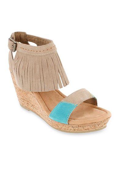 Minnetonka Poppy Wedge Sandal QHFvpHCXt