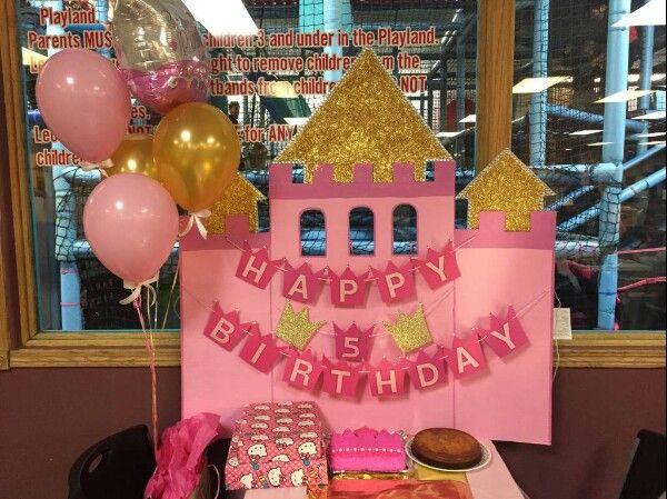 Diy Princess Birthday Castle Backdrop Birthday Party